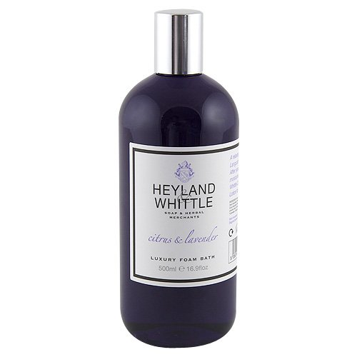 Heyland and Whittle Citrus and Lavender Foam Bath