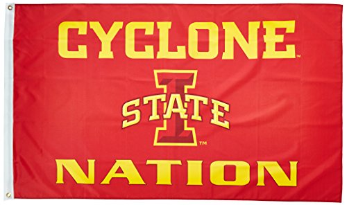 (NCAA Iowa State Cyclones 3-by-5 Foot Flag With Grommets)