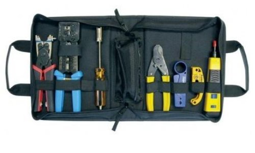 Platinum Tools 90153 PRO HD Twisted Pair & Coaxial Kit, w/Zip Case. Box. -