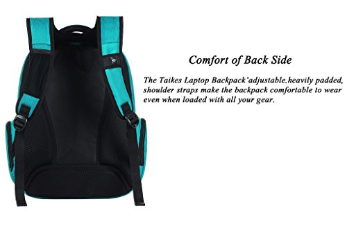 Binlion Taikes Laptop Backpack Up To 17-Inch and bolsas escolares Mochilas Tipo Casual y Bolsas y Mochilas para portátiles y netbooks Oilgreen26
