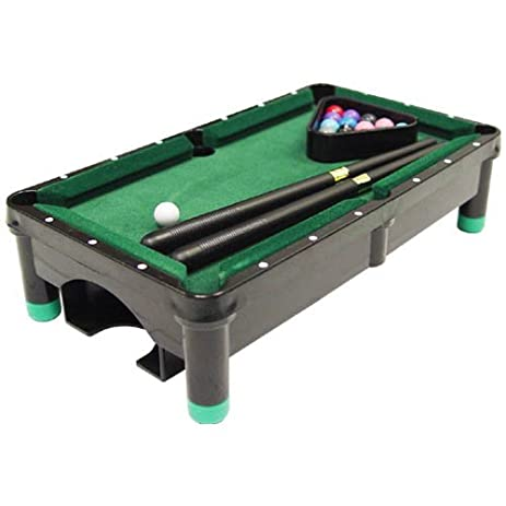 Amazoncom Sterling Gaming Plastic Mini Pool Table Sports Outdoors - Sterling pool table