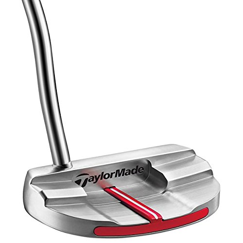 TaylorMade N1538327 Big Red Monte Carlo Super Stroke Putter, Right Hand, 35″