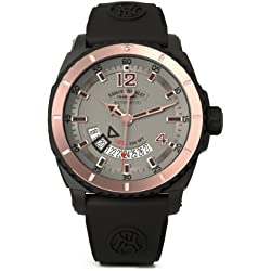 Armand Nicolet Men's D710AQN-GS-GG4710N S05 Analog Display Swiss Automatic Black Watch