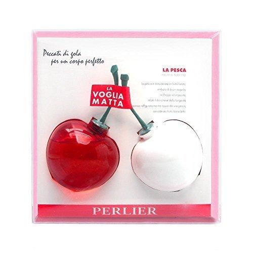 (Perlier Peach 2 Piece Set Includes: 5.0 oz Peach Bath & Shower Gel + 5.0 oz Peach Body Moisturizing Milk by Perlier)
