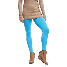 - 41OWxRZWC5L - LMB | Seamless Full Length Leggings | Variety Colors | One Size