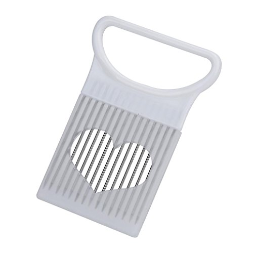 Iuhan New Tomato Onion Vegetables Slicer Cutting Aid Holder Guide Slicing Cutter Safe Fork by Iuhan (Image #4)