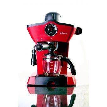 Oster Cafetera Espresso, roja