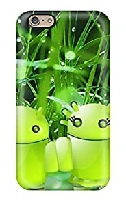 Sanp On Case Cover Protector For Iphone 6 (android Nature Concept)
