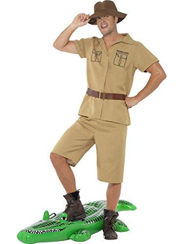 MyPartyShirt Safari Man Adult Costume-Mens -