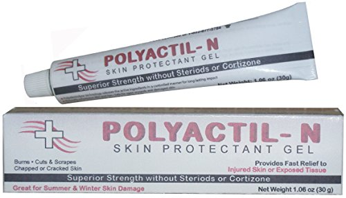 Polyactil-N - Maybe the World's Best 1st Aid Ointment for Burns, Wounds, Cuts, Winter Chapping, Summer Damage and More by Med-Actil