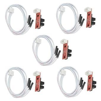 XLX - Juego de 5 interruptores ópticos de control de luz ...