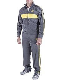 Men's 2 Piece Jacket & Pants Slim Fit Jogging Track Suit