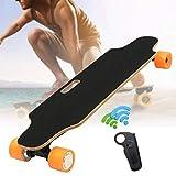Freelance Shop Sport ALFAS 250W 15km/h Electric Skateboard Scooter Remote Control Longboard 7-Layer Maple Board Shock Proof Board - Orange