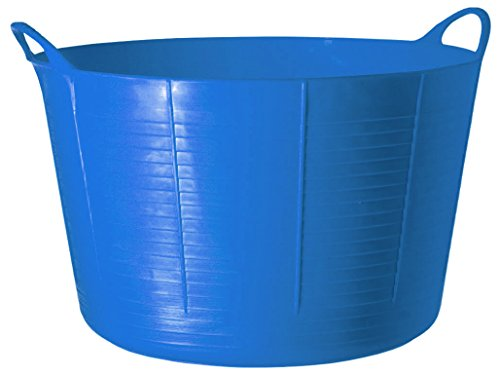 - TubTrugs SP75BL X-Large Blue Flex Tub, 75 Liter