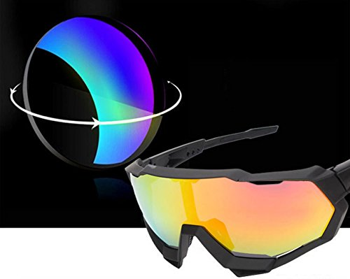 Gafas a Protección explosiones de Prueba Material montaña Ciclismo Esquí de PC Pescar UV B de 8nSw4xrqf8