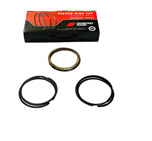 Diamond Power E923 Ford Focus 2.0L 122CID SOHC 8V Piston Ring Set