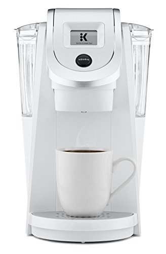 Keurig K250 Single Serve, Programmable K-Cup Pod Coffee Maker, White