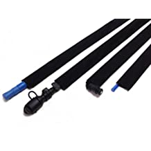Black Hydration Pack Drink Tube Cover