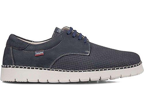 Azul Callaghan De Derby Para 11401 Hombre Zapatos Cordones w7wUqT0