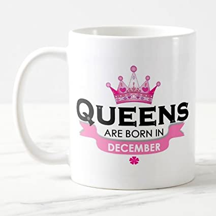 901ab0fc Buy Exciting Lives December Queen Mug - Birthday Mug For Wife Girlfriend  Sister Mothers Online at Low Prices in India - Amazon.in