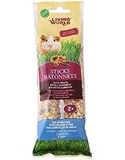 Living World 60671 Guinea Pig Fruit Treat Sticks, 4-Ounce