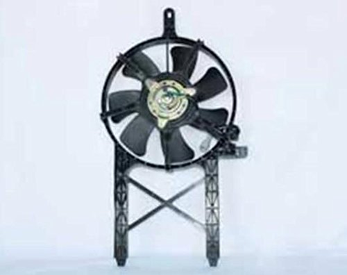 NEW AC CONDENSER FAN ASSEMBLY FITS 2005-2006 NISSAN FRONTIER 4.0L V6 315-55032-200 76048 92120-EA200 NI3020100 FA70294 COMPONENTS PLUS RAREELECTRICAL