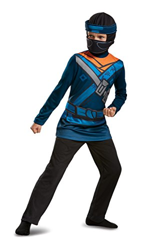 (Ninjago Jay Costume Small 4-6)