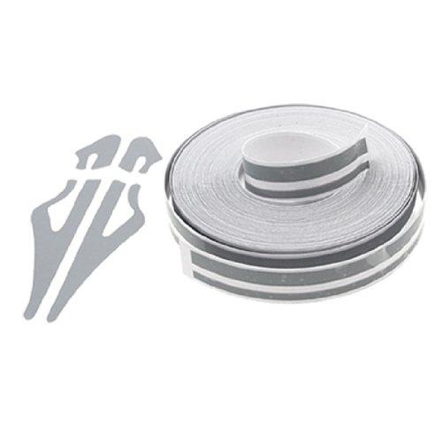 uxcell Grey Car Auto Stripe Adhesive Striping Tape Sticker Film W12 x L9800mm