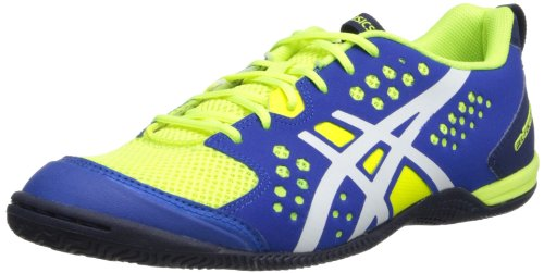 ASICS Men's Gel-Fortius TR Training Shoe,Flash Yellow/White/Royal Blue,9 M US