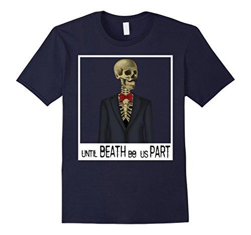 Mens Groom Skeleton Shirt Halloween Couple Matching Bride Groom Large (Bride And Groom Couples Halloween Costumes)