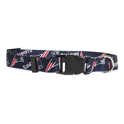 NFL New England Patriots Team Pet Collar, Medium
