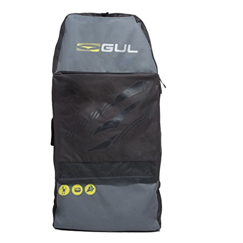 GUL 2017 Arica Bodyboard Bag in Black/Yellow LU0127-B2 by GUL
