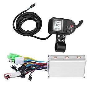 41OX4R%2Bci4L. SS300 Alomejor Controller Senza Spazzole per Bici Elettrica con Display LCD Impermeabile Pannello 24V / 36V / 48V 250W / 350W…