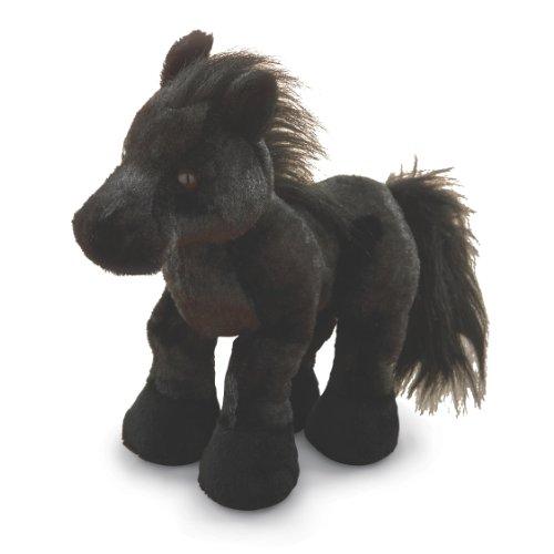 Amazon Com Webkinz Black Stallion Friesian Horse Toys Games