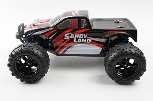 Novcolxya Model Cars RC Electric Racing Car 1/18 Scale Off-Road 2.4-Ghz Radio Remote control 4WD High Speed 25MPH, Red-Best Gift for Kids and Adults