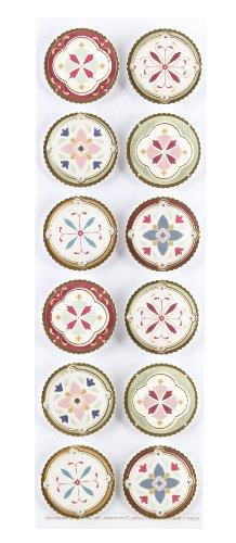 Martha Stewart Crafts Stickers, Heirloom Foil ()