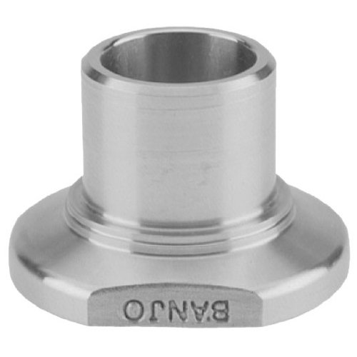 Banjo M104SWFSS Manifold Fitting, 1'' Flange x 1'' Socket Weld Fitting x 4'' Long
