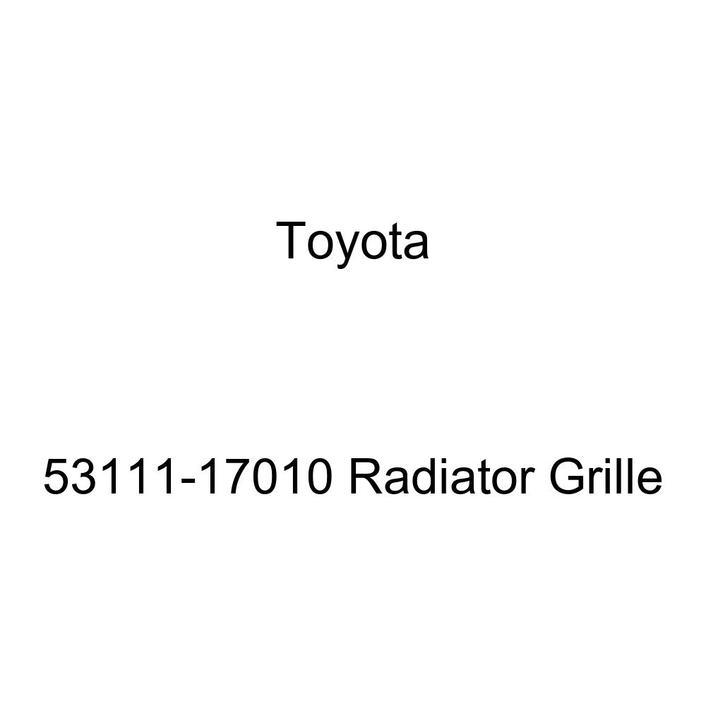 Genuine Toyota 53111-17010 Radiator Grille