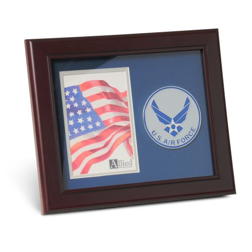 (Allied Products Aim High Air Force Medallion 4 by 6 inch Portrait Picture)