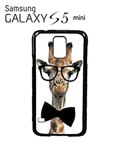 Geek Giraffe Nerd Geek Tie Mobile Cell Phone Case Samsung Galaxy S5 Mini White by lolosakes