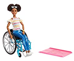 Barbie doll celebrates diversity with unique fashion dolls that encourage real-world storytelling and open-ended dreams. With a wide variety of skin tones, eye colors, hair colors and textures, body types and fashions, the Barbie fashionistas...