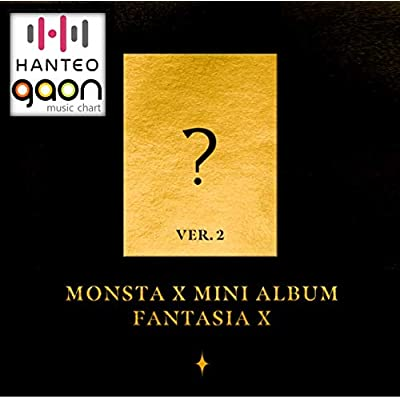 Monsta X - Fantasia X [Ver. 2] (Mini Album) [Pre Order] CD+Photobook+Folded Poster+Pre Order Benefit+Others with Extra Decorative Sticker Set, Photocard Set: Arts, Crafts & Sewing