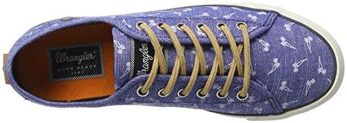 blue 100 Wrangler Femme Bleu Starry Baskets wPPUFqB