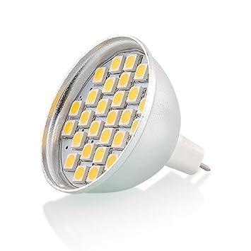 amzdeal® Luz LED, ahorra energia, LED economico, 4 x MR16 Bombilla LED
