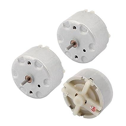 eDealMax 3pcs motor DC 12V DC 3V-7200 Micro de juguete de control remoto del