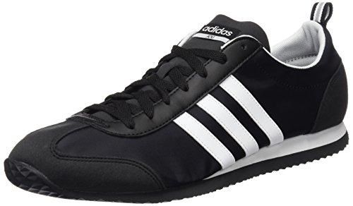 adidas Vs Jog, Chaussures Homme, Noir (Negbas/Ftwbla/Onicla), 44 EU