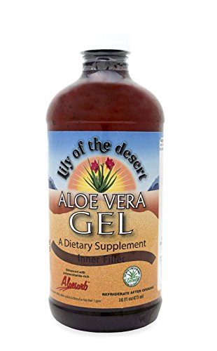 Lily Of The Desert Aloe Vera Gel, Supports Healthy Digestion and Promotes Healthy Joints (Inner Fillet, 16oz)