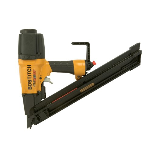 - BOSTITCH MCN250 StrapShot Metal Connector Nailer