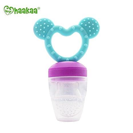 Haakaa regalo para niño, bebé y mamá alimentador antiahogo ...