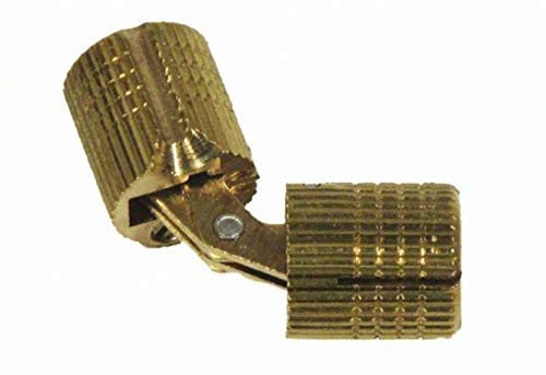 Soss Barrel Hinge, Solid Brass, 10mm